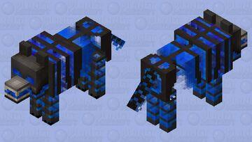 Hell Burns Hot (Angry Hellhound) Minecraft Mob Skin