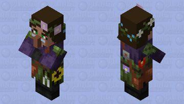 Botanist (Villager profession) Minecraft Mob Skin