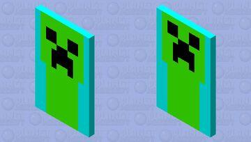 Creeper Cape Minecraft Mob Skin