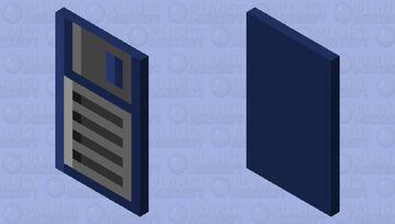 Floppy Disk Minecraft Mob Skin