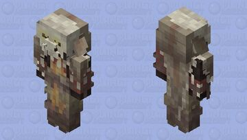 Navajo Skinwalker [Mythical Creatures Contest] Minecraft Mob Skin