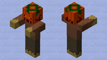 Scare Shade (Haunted Scarecrow) Minecraft Mob Skin