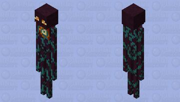 Warped Enderman (with Origin Story) Minecraft Mob Skin