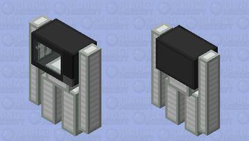 Sentient Microwave Minecraft Mob Skin