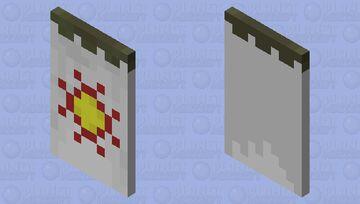 Sunlight Covenant Cape. Minecraft Mob Skin