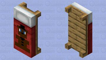 Teddy Freddy Bed FNAF Minecraft Mob Skin