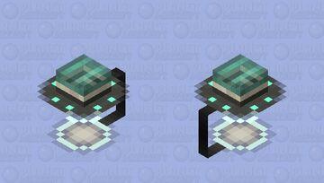 UFO Lamp Minecraft Mob Skin