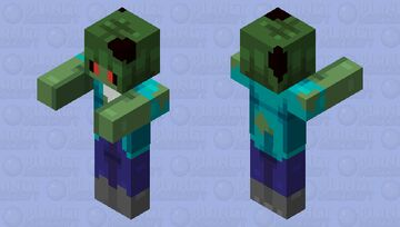 Brains.... Minecraft Mob Skin