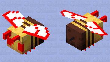 monster bee Minecraft Mob Skin