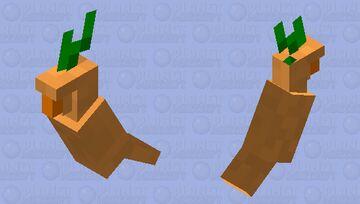 Carrot Minecraft Mob Skin