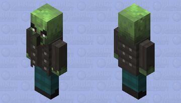 Zombie Vindicator Minecraft Mob Skin