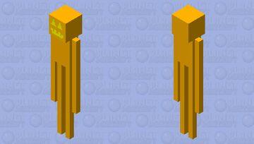 pumpkin man Minecraft Mob Skin