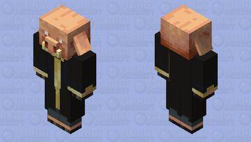 Evoker Piglin Minecraft Mob Skin