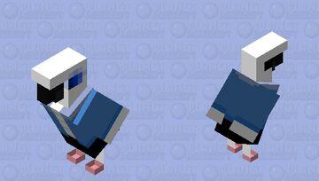 Sans The Parrot Minecraft Mob Skin