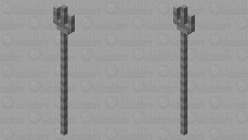 Endo Arm Triden Minecraft Mob Skin