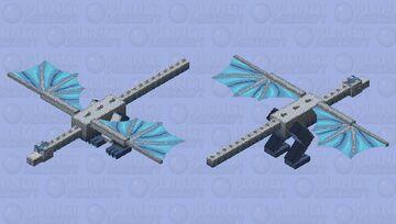 𝕭𝖔𝖗𝖊𝖆𝖑 𝖙𝖍𝖊 𝖇𝖊𝖆𝖘𝖙 𝖔𝖋 𝖙𝖍𝖊 𝕹𝖊𝖛𝖊𝖗𝕽𝖊𝖆𝖑𝖒 Minecraft Mob Skin