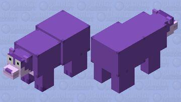 Bonzi Buddy Polar Bear Minecraft Mob Skin