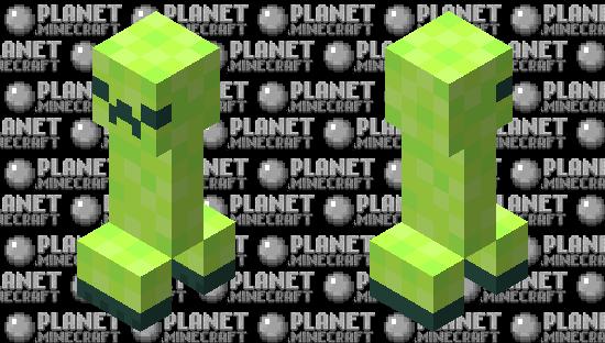 Hypixel Skyblock Creeper Minecraft Skin