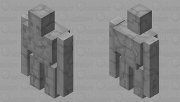 cracked version of another mob skin Minecraft Mob Skin