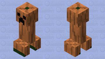 Pumpker Minecraft Mob Skin