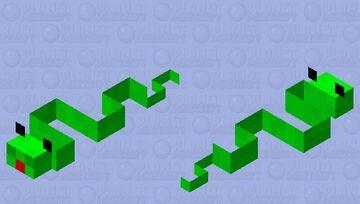 a snake 🐍🐍 Minecraft Mob Skin