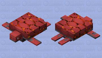 lava turtle Minecraft Mob Skin