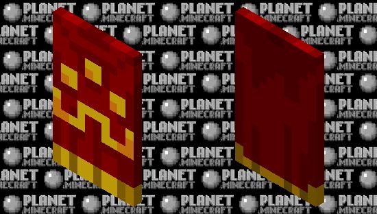 Minecraft Dungeons :Hero's Cloak Minecraft Skin