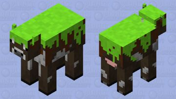 A colossal cow Minecraft Mob Skin