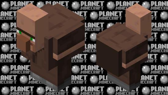 Villager Chicken Minecraft Skin