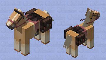 Palomino Minecraft Mob Skin
