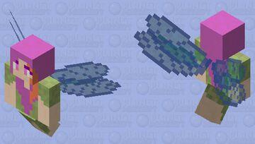 Dragonfly Fairy Minecraft Mob Skin
