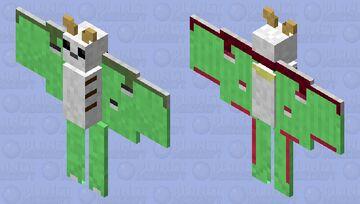 Luna Moth Minecraft Mob Skin