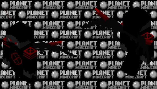 Demonic Hunter Minecraft Skin