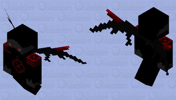 Demonic Hunter Minecraft Mob Skin