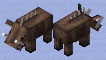 Erymanthian Boar Minecraft Mob Skin