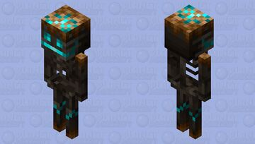 The Withered Skeleton Minecraft Mob Skin