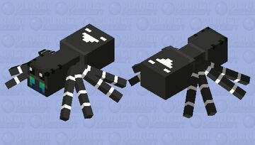 Regal Jumping Spider (male) Minecraft Mob Skin