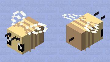 soft simple bee Minecraft Mob Skin