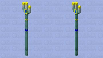 Seaheart Trident (first Popular Reel!) Minecraft Mob Skin