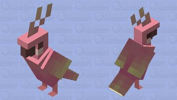 Party parrot Minecraft Mob Skin