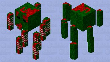 Zom-blaze Minecraft Mob Skin