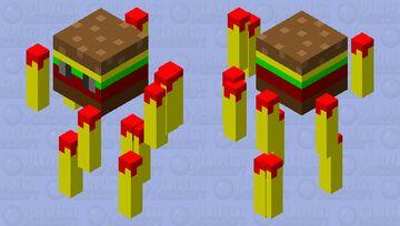 gurger fries extra ketchup Minecraft Mob Skin