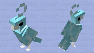 Wind and Ice Sparrow Minecraft Mob Skin