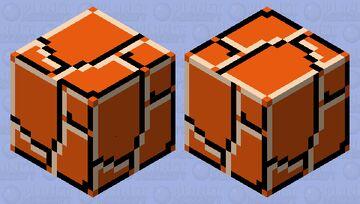 Ground Block - Super Mario Bros. Minecraft Mob Skin