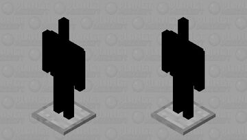 ARMOUR STAND BLACK Minecraft Mob Skin