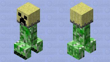 Creeper Lampshade. Minecraft Mob Skin