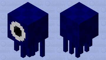 Squid Ghast Minecraft Mob Skin