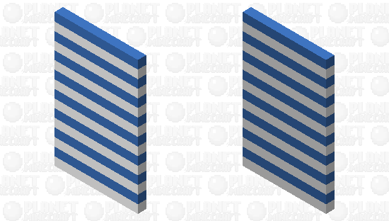 Blue Stripes Cape Minecraft Skin