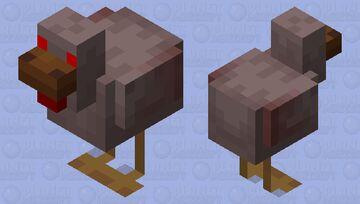 The Doom Chicken Minecraft Mob Skin