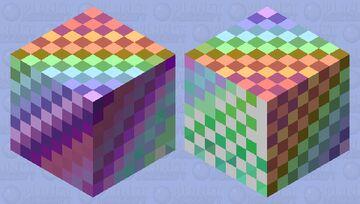 Rainbow Minecraft Mob Skin